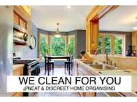 🌈NEAT & DISCREET, HOME CLEANING,ORGANISING,DECLUTTERING,DEEP CLEAN,END OF TENENCY,CLEANER,ASSISTANT