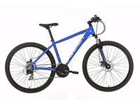 **NEW** Raleigh Helion 2.0, 23 inch, 21 speed, Mountain Bike (boxed)