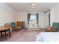 Roomy self contained single studio Holland Park Available NOW