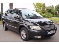 Chrysler Grand Voyager 3.3 Limited 5dr 2002 (02 reg), MPV, HPI CLEAR