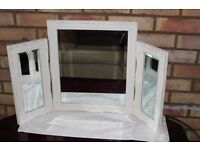 Dressing Table Mirror (3 Piece Set )