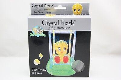 Bunny Toys Diy (3D DIY Crystal Puzzle Jigsaw 40 pcs Toy Model Figure Baby Tweety Bugs Bunny)