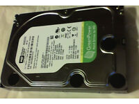 2TB Western digital green label sata hard drive(desktop PC)