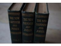 The New Carpenter and Joiner (3 Volume set) (Hardcover)