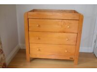Very solid Pine Chest of Drawers Mamas & Papas