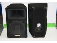 "Yamaha 12"" Speakers"