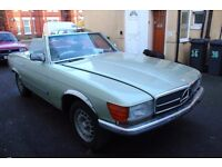 Mercedes 350 SL - Project Car - Needs Finishing - Barn Find repair