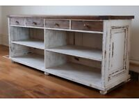 Beautiful large French farmhouse sideboard - shabby chic