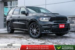 2018 Dodge Durango | RT | AWD | 7 PASSENGER | HEATED LEATHER | N
