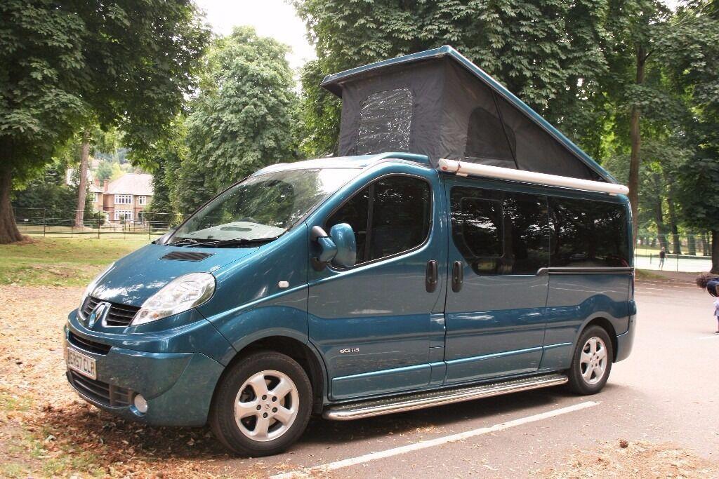 renault trafic passenger dci115 4 berth campervan. Black Bedroom Furniture Sets. Home Design Ideas