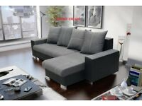 "Corner sofa bed sofa bed UK STOCK 1-2 DAY DELIVERY ""AVIANO"""