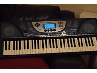 YAMAHA PSR-270KEYBOARD 61KEYS WITH POWERADAPTER CAN BESEEN WORKING