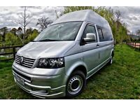 VW T5 LHD 2008 high roof Auto 2.5 130bp FVWSH in excellent condition ready for summer