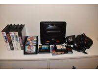 Sega Megadrive 2 Black Console Bundle With 21 Games & Controllers Mega Drive
