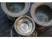 Three silver cups (100ml each)