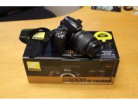 Nikon D3000 Digital SLR Camera with 18-55 VR Lens