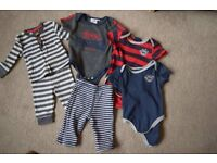3-6 months clothes bundle x 17 items