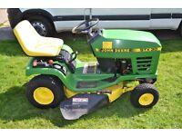 John Deere STX30 ride on lawn mower