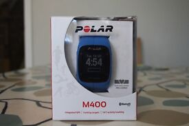 Polar M400 Sports watch, with heart rate LIKE NEW!!