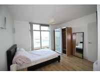 Manchester City Centre Ensuite Double Bedroom in a Two Bed Flat for rent in June