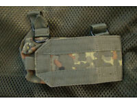 NEW - Flecktarn Camo - Arktis Butt / Rifle Stock Pouch (Last One)