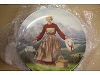 Beautiful plates from the Sound of Music (1965)