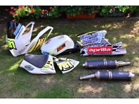 Aprilia RSV 1000 Track Fairings