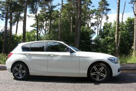 BMW 116i 5 door hatch (F20), £2,000+ in options (current shape, pre LCI)