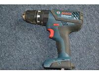 Bosch GSB 18V- Cordlles drill, body only