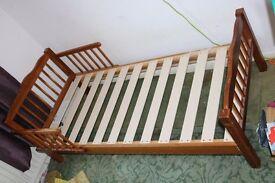 Wooden Kids Bed - dimension - L 140cm W65cm H20cm