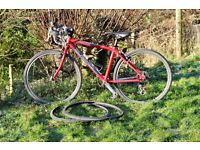 ISLABIKE Luath 24 road / cyclocross bike, TWO sets of tyres, Knobbly & road. Little use