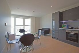 Lovely 21st floor apartment with panoramic views in Cassia Stratford Glasshouse next Westfield E20