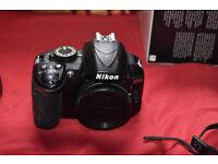 Nikon D3100 BODY ONLY, HENCE PRICE.
