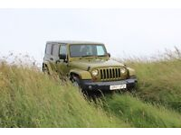 Jeep Wrangler 2.8 CRD Sahara Unlimited Hard Top 4x4 5dr - Rescue Green