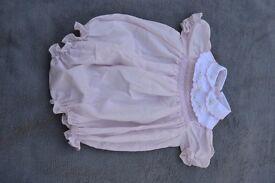 Girls Cotton romper 3-6 months