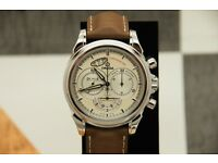 Omega De Ville Co-Axial Chronoscope Chronograph Mens Watch 4850.30.37