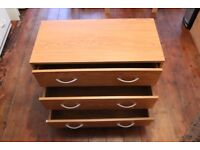 Chest of Drawers - Dark Brown Wood Effect