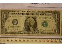 UNITED STATES OF AMERICA 1 DOLLAR SERIES 1977A