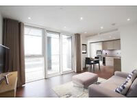 1 Double bedroom new build apartment with gym, cinema concierge terrace close to Vauxhall station