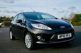Ford Fiesta Titanium 1.4 TDCi in excellent condition 12 months MOT £20 annual car tax