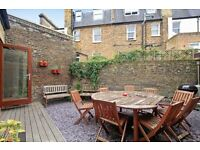 Available Now! Unique 2 Double Bedroom Flat- Modern Interior- Private Garden- Near Fulham Broadway!