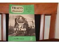 Trains Illustrated Magazines 1958-1961