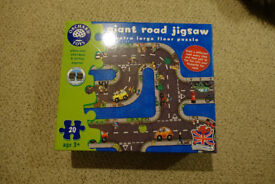 Orchard Toys giant road jigsaw - unused