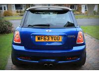 "2013 Mini Cooper S   Black Suede Headliner   Panoramic Sunroof   18"" Black Alloy Wheels   Xenons"
