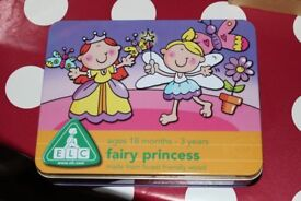 Early Learning Centre Fairy Princess Puzzles in a Tin