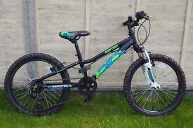 Kids 20 inch wheel Mountain Bike - Saracen Rufftrax