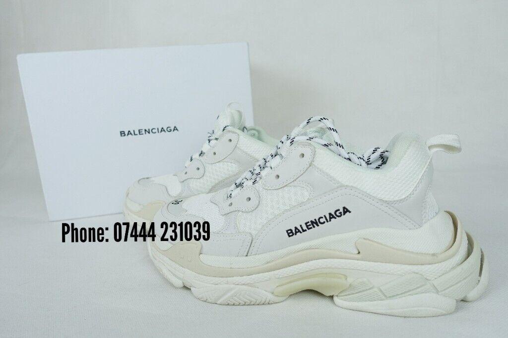 Abituarsi a bellissimo ho fame  High quality Balenciaga triple s shoes Gucci Ace Trainers Louboutin ...