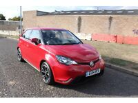 MG3 1.5 VTi-Tech 3Style Lux RED - Top of the Range, Full Leather