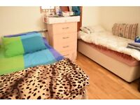 Twin room in Tooting Bec. Available from 31/08