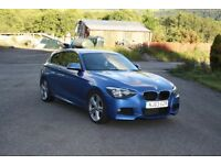 LOW MILEAGE, M SPORT, ESTORIL BLUE, TWO FEMALE OWNERS, 3 DR, NEW TYRES, IMMACULATE ALLOYS